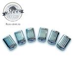 Потолочные заглушки ВАЗ 2101 хром
