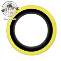Флиппера черно-желтые