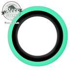 Флиппера черно-зеленые