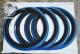 Флиппера черно-синие