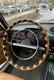 Оплетка руля из кожи с кнопками на Жигули
